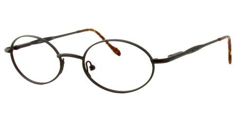 Reptile Designer Eyeglasses Iguana in Matte Black :: Rx Single Vision