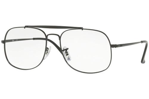 Ray Ban Designer  Reading Eye Glasses RX6389-2509-55 Black 55mm
