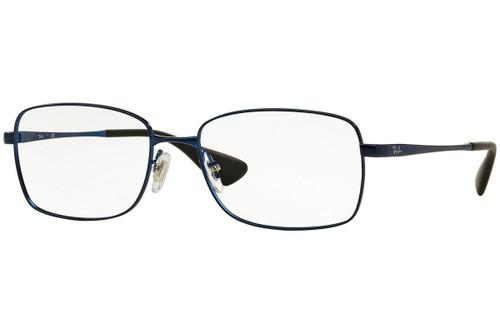 Ray Ban Designer  Reading Eye Glasses RX6336M-2510-53 Matte Blue 53mm