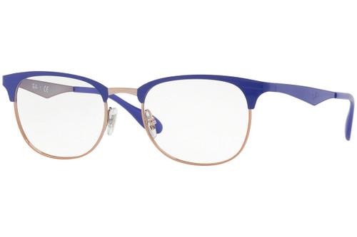 Ray Ban Designer  Reading Eye Glasses RX6346-2972-52 Copper/Violet 52mm