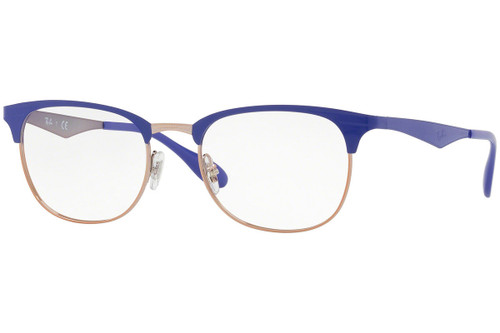 Ray Ban Designer  Reading Eye Glasses RX6346-2972-50 Copper/Violet 50mm