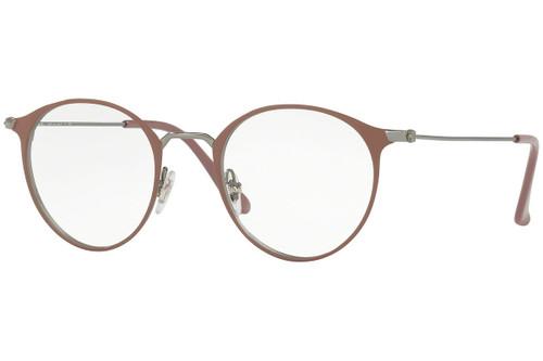 Ray Ban Designer  Reading Eye Glasses RX6378-2907-47 Gunmetal/Turtledove 47mm