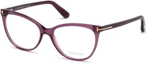 Tom Ford Designer Eyeglasses FT5513-081 in Violet 54mm :: Rx Bi-Focal