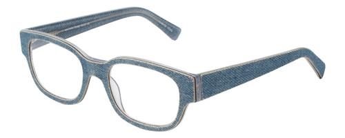 Eye Bobs Bossy Designer Reading Eye Glasses in Blue Jean 2418-10 51mm