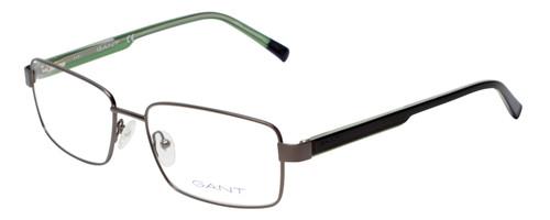 Gant Prescription Eyeglasses GA3102 Gunmetal/Black Green 58mm Rx Single Vision
