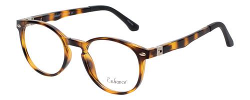 Enhance Kids Prescription Glasses EN4119 46mm Havana Tortoise/Matte Black Custom