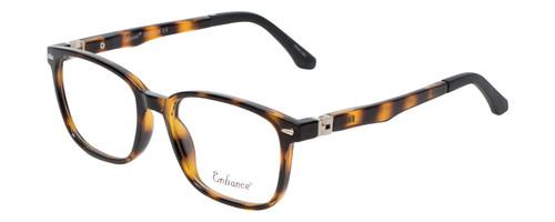 Enhance Kids Prescription Eyeglasses EN4118 48 mm Havana Tortoise/Matte Black Rx