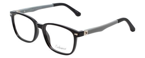 NY Eye Enhance Kids Designer Reading Glasses Glossy Matte Black/Grey EN4118 48mm