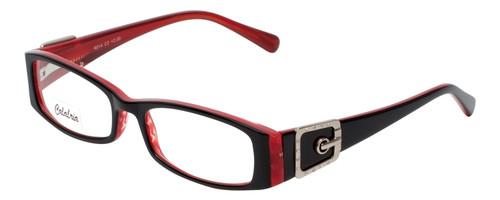Calabria Designer Reading Glasses 814 Ebony with Blue Light Filter + A/R Lenses
