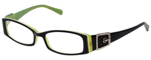 Calabria Designer Reading Glasses 814 Indigo with Blue Light Filter + A/R Lenses