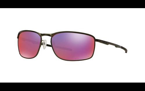 Oakley Designer Sunglasses Conductor 8 OO4107-04 Carbon&Polarized 00 Red Iridium