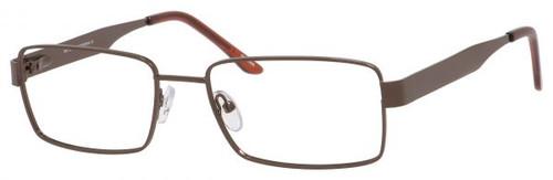 Dale Earnhardt, Jr Eyeglasses 6804 in Satin Brown Frames 56mm Progressive