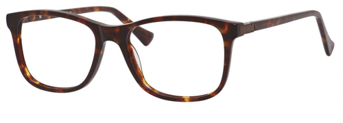 Esquire Designer Rectangular Frame Eyeglasses EQ1509 in Tortoise-54 mm Progressive