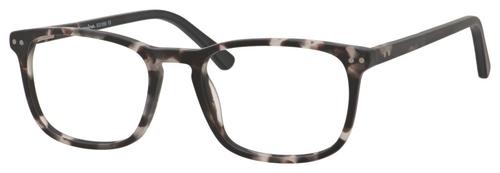 Esquire Unisex EQ1556 Oval Reading Eyeglasses in Black Grey Marble 51 mm Progressive