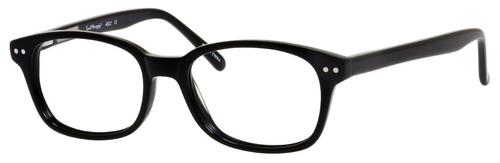 Ernest Hemingway H4602 Unisex Oval Frame Eyeglasses in Black 50 mm Progressive
