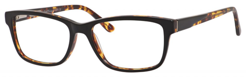 Hemingway H4675 Unisex Rectangular Eyeglasses in Black/Tortoise 52 mm Progressive