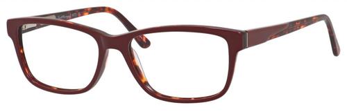Hemingway H4675 Unisex Rectangular Eyeglasses in Burgundy/Tortoise 52 mm Progressive