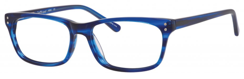 Ernest Hemingway H4684 Unisex Oval Eyeglasses in Cobalt Blue 53 mm Progressive
