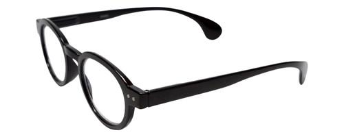 Calabria Elite Designer Unisex Round Reading Glasses R217 Professor Type 46 mm