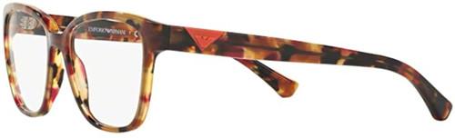 EMPORIA ARMANI Eye Glasses in Brown Spot Raspberry EA3094-5541-52 mm Progressive