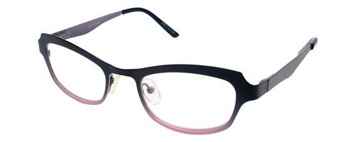 Cinzia Designer Reading Glasses Hey Doll C2 in Black Pink 46mm