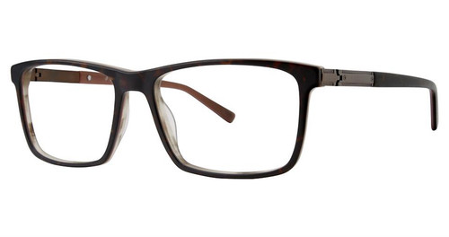 Big and Tall 19 Designer Blue Light Blocking Filter Reading Glasses Matte Tortoise 58mm