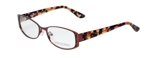 Corinne McCormack Designer Eyeglasses Murray Hill in Pink Rose 52mm :: Custom Left & Right Lens
