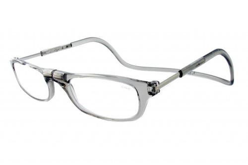 Clic Magnetic Eyewear Regular Fit Original Style in Smoke :: Custom Left & Right Lens