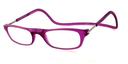 Clic Magnetic Eyewear Regular Fit Original Style in Matte-Lavender :: Custom Left & Right Lens