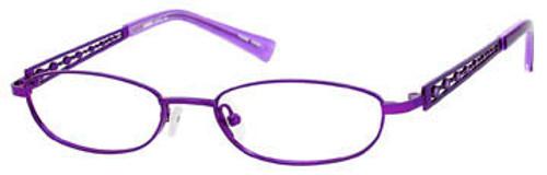 Seventeen Designer Eyeglasses 5334 in Purple :: Rx Single Vision