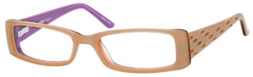 Seventeen Designer Eyeglasses 5352 in Coral-Sky :: Rx Single Vision