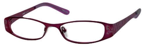 Seventeen Designer Eyeglasses 5335 in Purple :: Rx Single Vision