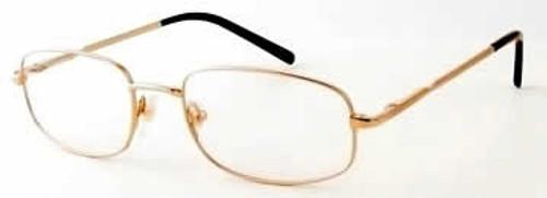 Woolrich 7872 in Gold Designer Reading Glasses
