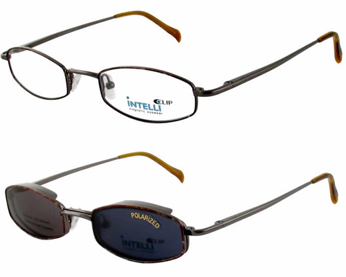 Magnetic Clip-On 761 Polarized Reading Sunglasses :: Rx Single Vision