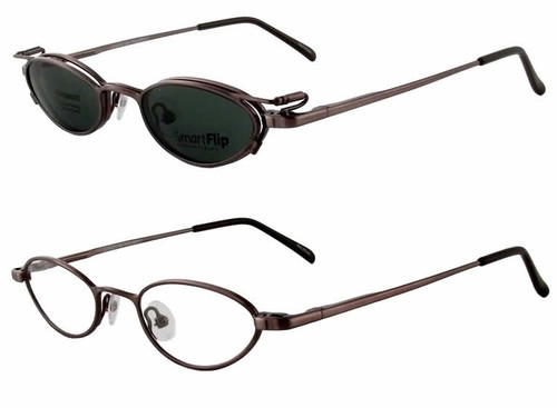 Magnetic Clip-On 450 Polarized Reading Sunglasses :: Rx Single Vision