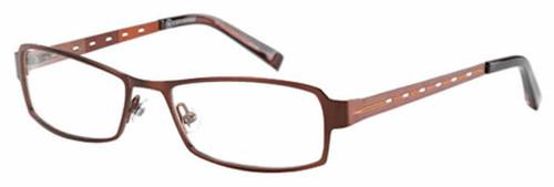Converse Designer Eyeglasses Precursor in Brown :: Rx Single Vision
