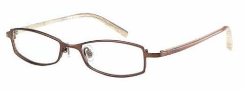 Jones New York Designer Eyeglasses J400 Brown :: Custom Left & Right Lens