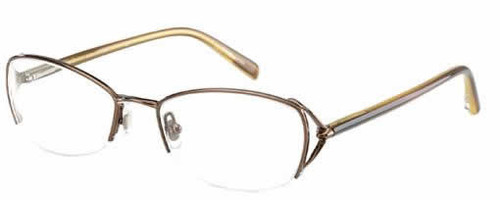 Jones New York Designer Eyeglasses J426 Brown :: Custom Left & Right Lens