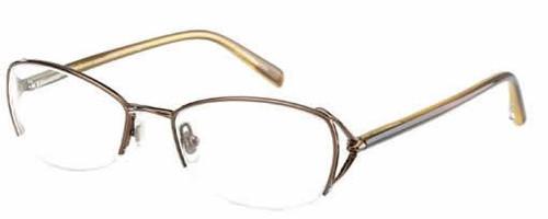 Jones New York Designer Eyeglasses J426 Brown :: Rx Single Vision