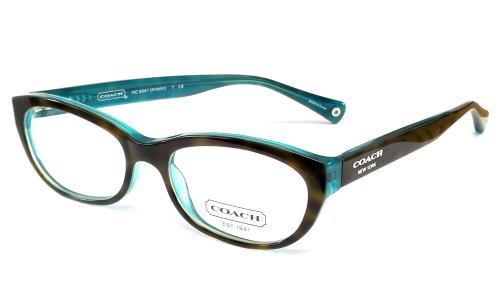 Coach Designer Eyeglasses 6041-5116 :: Custom Left & Right Lens