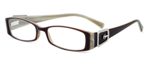 Calabria Designer Eyeglasses 814 Nutmeg :: Progressive