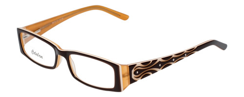 Calabria Designer Eyeglasses 815 Brown :: Progressive