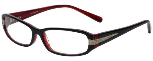 Calabria Designer Eyeglasses 847 Red :: Progressive