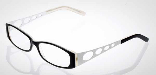 Calabria Designer Eyeglasses 808 Black :: Rx Bi-Focal