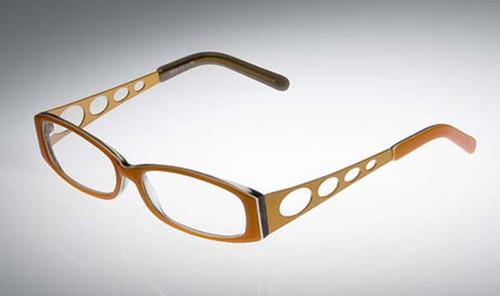 Calabria Designer Eyeglasses 808 Tangerine :: Rx Bi-Focal