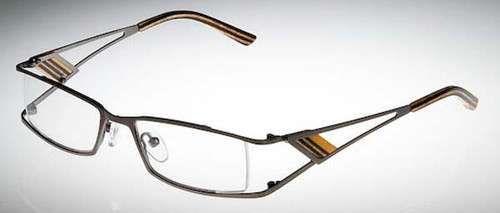 Calabria Designer Eyeglasses 813 Tangerine :: Rx Bi-Focal
