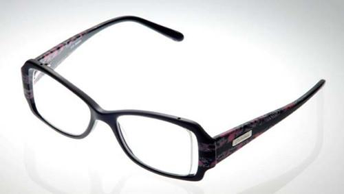 Calabria Designer Eyeglasses 816 Onyx :: Rx Bi-Focal