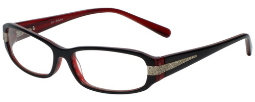 Calabria Designer Eyeglasses 847 Red :: Rx Bi-Focal