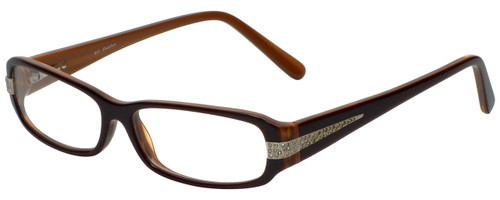 Calabria Designer Eyeglasses 847 Nutmeg :: Rx Bi-Focal