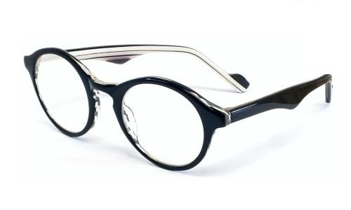 Calabria Designer Eyeglasses 850 Oreo :: Rx Bi-Focal